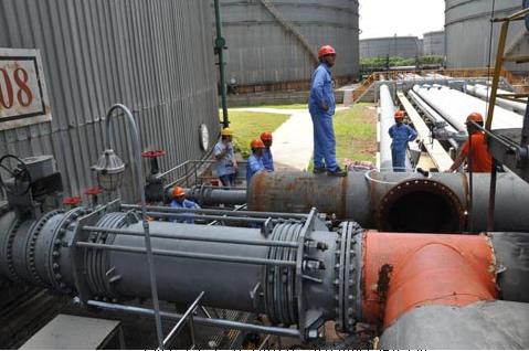 中石油某某油库工艺改造项目电伴热施工